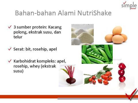 bahan nutrishake